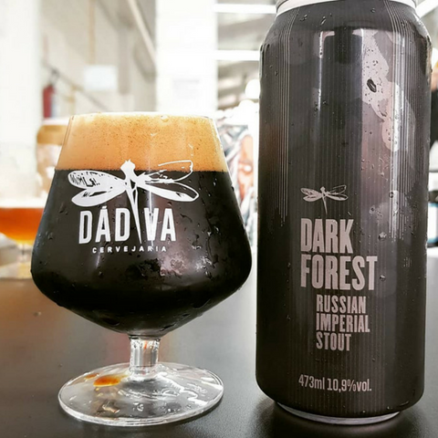 cerveja dadiva dark forest russian imperial stout