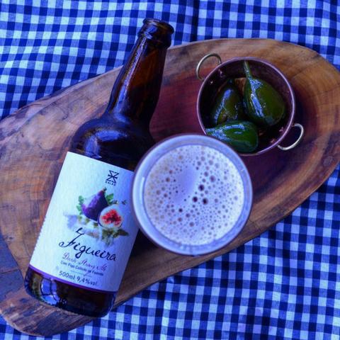 cerveja zalaz figueira belgian strong dark ale
