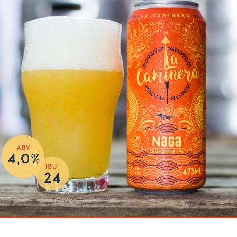 cerveja la caminera naga session new england ipa