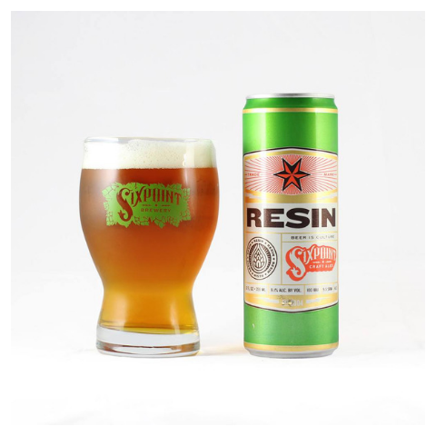 cerveja sixpoint brewery resin imperial ipa