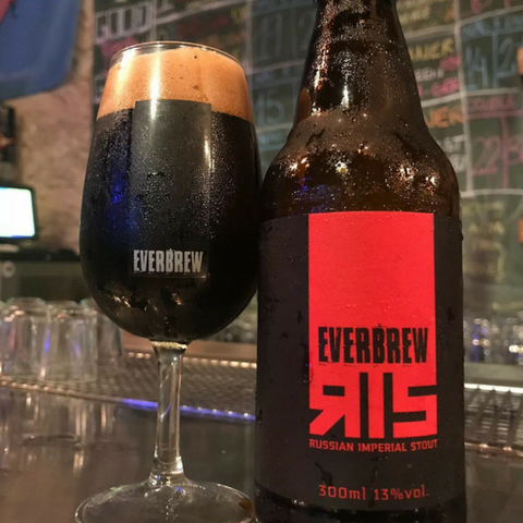 cerveja everbrew ris russian imperial stout