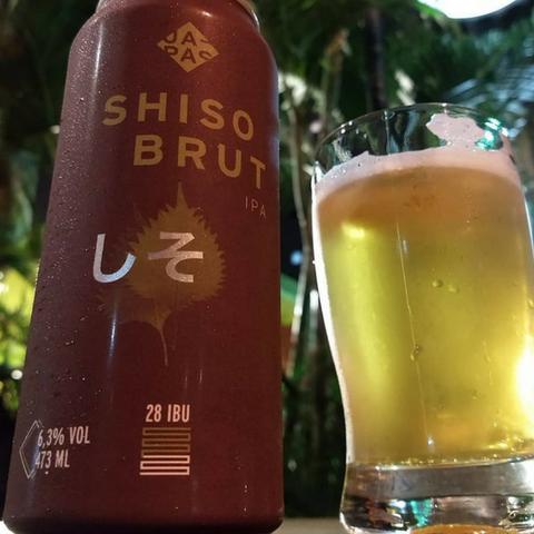 cerveja japas shiso brut ipa