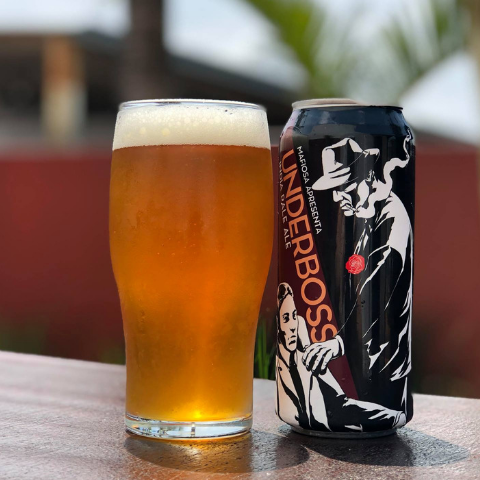 cerveja mafiosa underboss west coast ipa