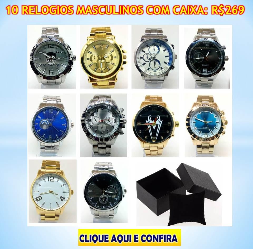 4f3546d182a Folheados e Semi Joias em Rondonia - Relógios Masculinos e Femininos ...