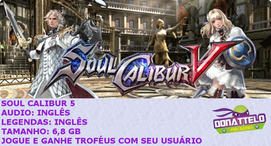 Soul Calibur V 5 ps3 psn