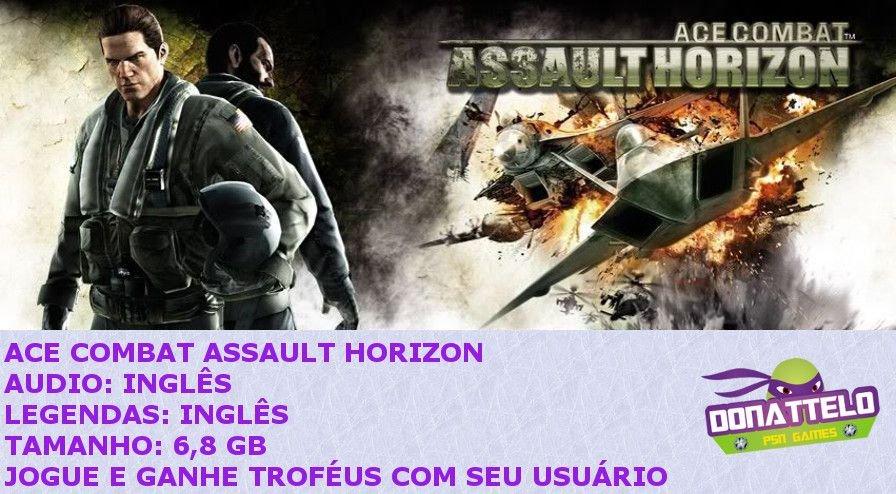 Ace Combat Assault Horizon ps3 psn