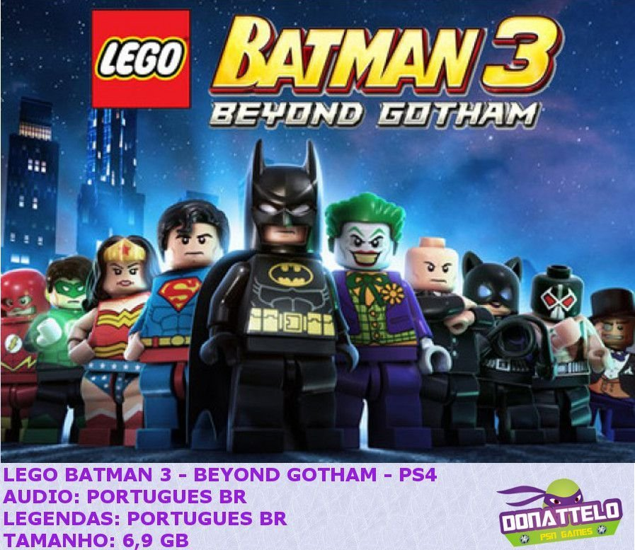 Lego batman 3 beyond gotham ps4 psn ptbr r 29 90 em for Codigos de lego batman