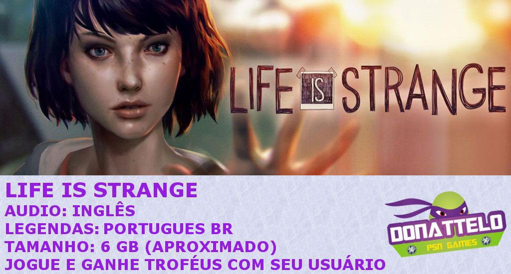 Life is Strange Temporada completa ps3 psn
