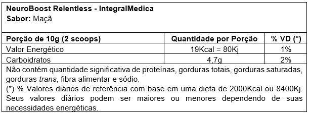 9185082cb NEUROBOOST RELENTLESS DARKNESS (300g) - Integralmedica - UltraMed ...