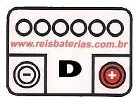 Bateria Acdelco 47Ah 22AO47D1