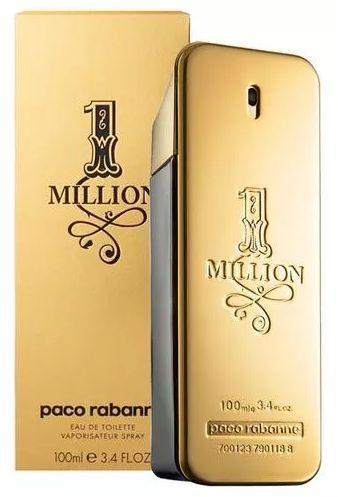 PERFUME ONE MILLION PACO RABANNE 100ml - PJShopStore - Moda e Acessórios 207bb17681ed