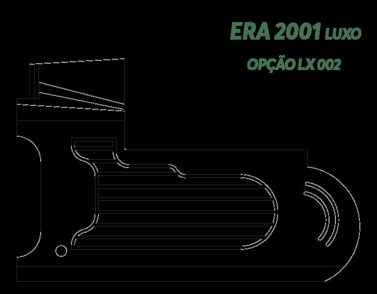 Desenho Era 2001 Luxo Opção LX 002