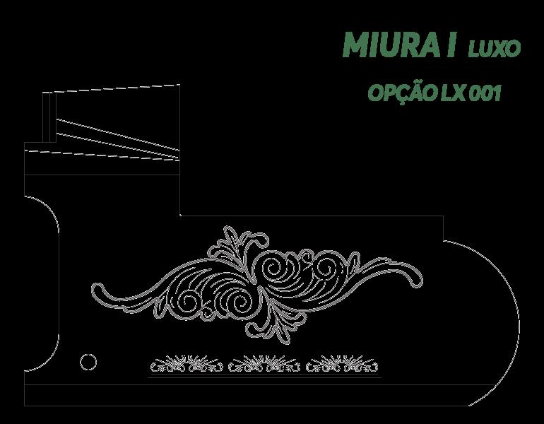 Desenho Miura I Luxo Opção LX 001