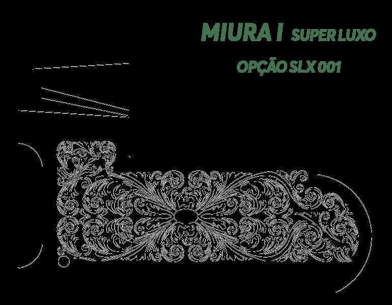 Desenho Miura I Super Luxo Opção SLX 001