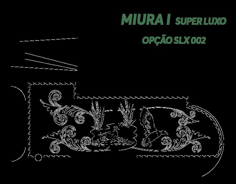 Desenho Miura I Super Luxo Opção SLX 002