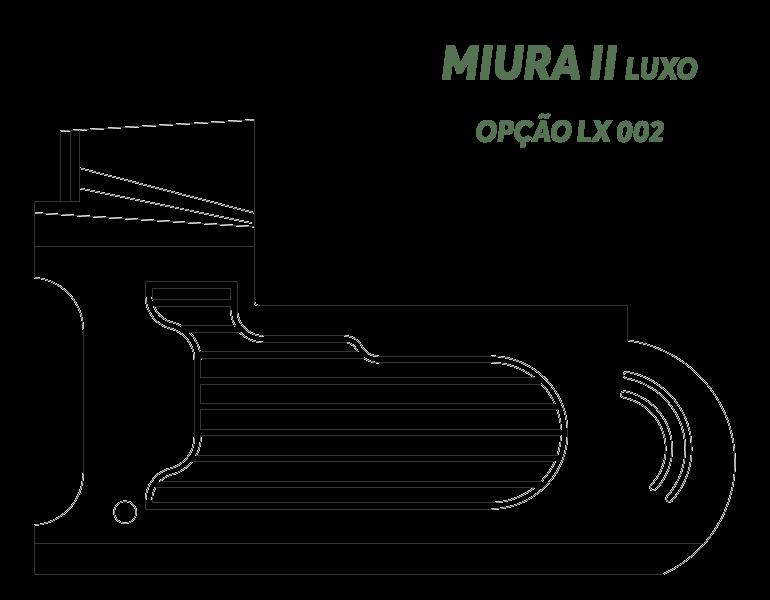 Desenho Miura II Luxo Opção LX 002