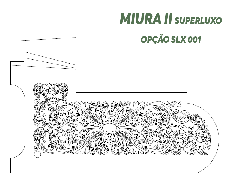 Desenho Miura II Super Luxo Opção SLX 001