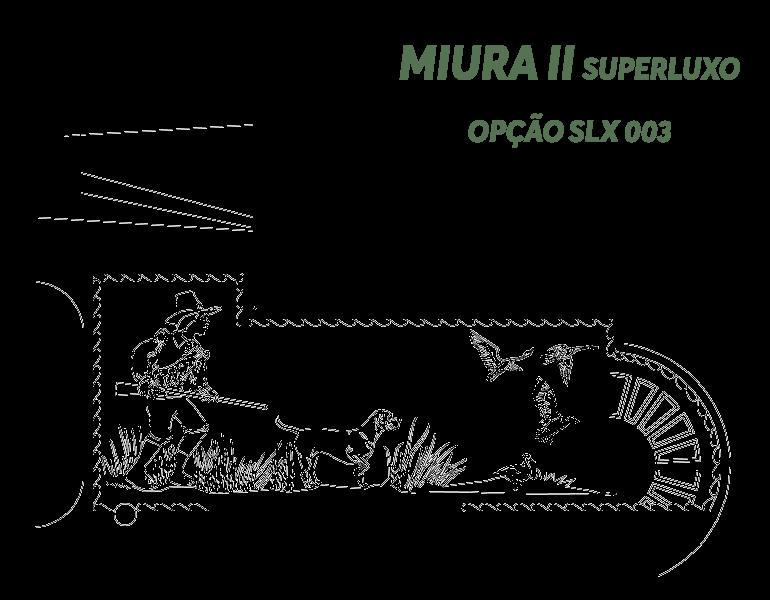 Desenho Miura II Super Luxo Opção SLX 003