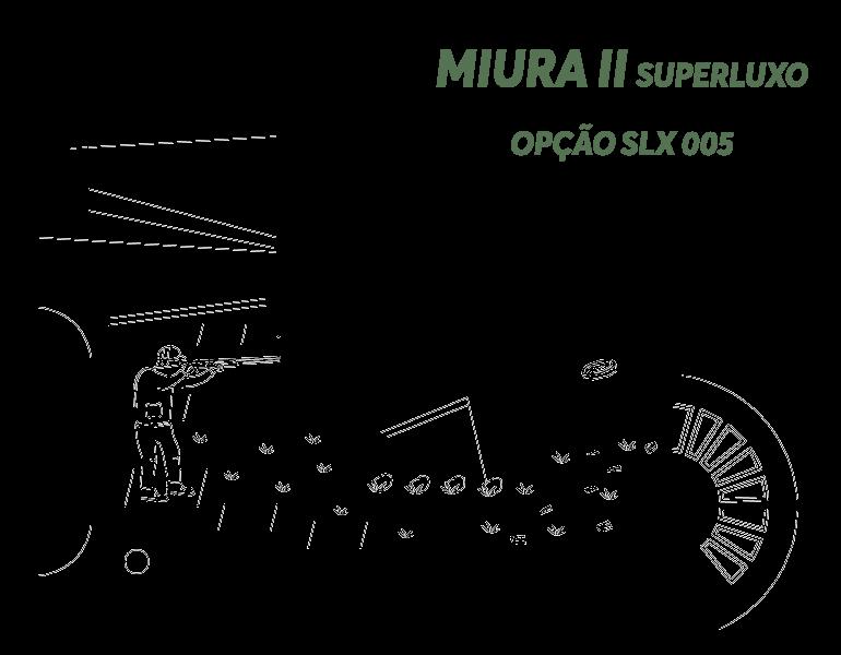 Desenho Miura II Super Luxo Opção LX S005