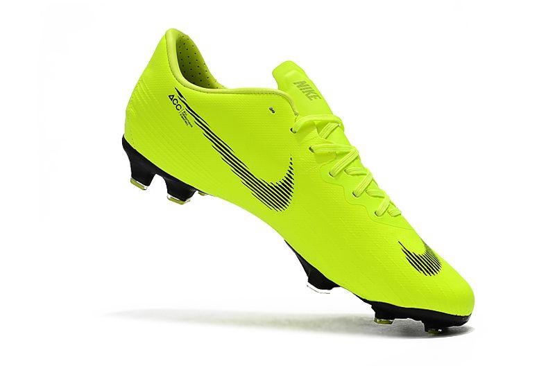 ede0057d72504 ... Chuteira Nike Campo Mercurial Vapor XII Verde Limão - Imagem 2 ...