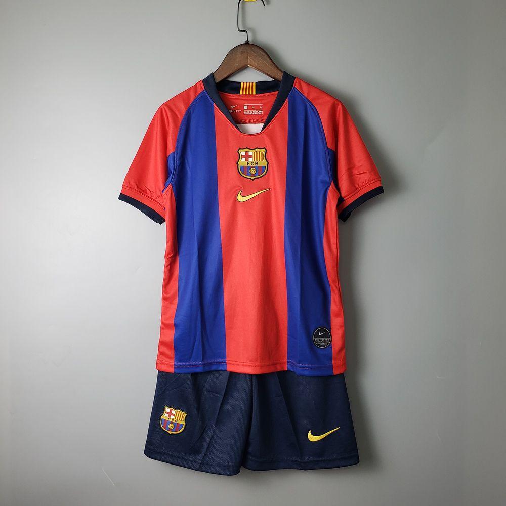 4bdfea8507 Camisa Barcelona infantil El Classico 2019 Nike Edição Especial - Imagem ...