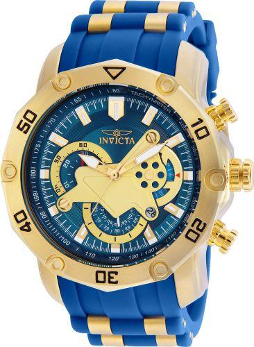 4cece29f77a Relógio Invicta Pro Diver 22798 Banhado Ouro 18k Cronografo 50mm
