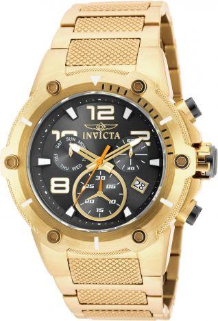 2fa6fd26c79 Relógio Invicta Speedway 19530 Banhado Ouro 18k Cronografo 51mm