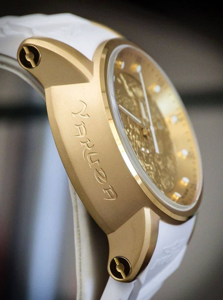 dfc27440a08 ... Relógio Invicta S1 Yakuza 19546 Branco Original Banhado Ouro 18k 48mm -  Imagem 3 ...