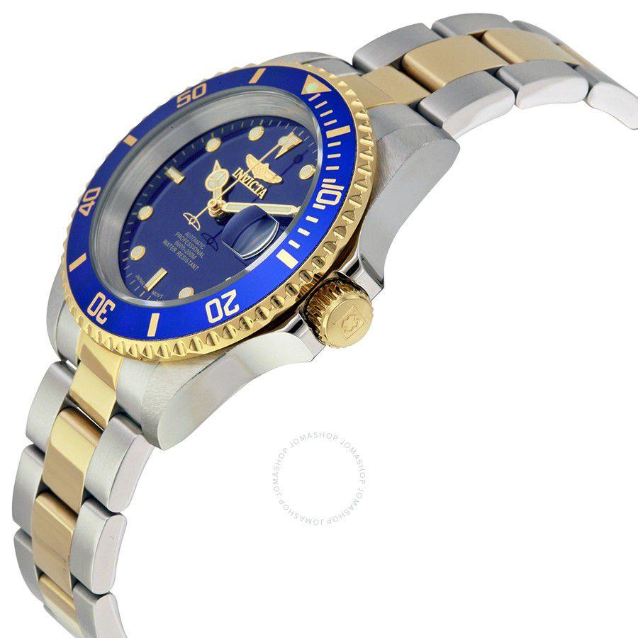 bbcbfc43106 ... Relógio Invicta Pro Diver 8928ob Banhado Ouro 18k Automatico 40mm Misto  - Imagem ...
