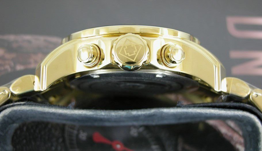 65809e14dc7 ... Relógio Invicta Pro Diver 19837 Banhado Ouro 18k Cronografo 48mm -  Imagem 2 ...