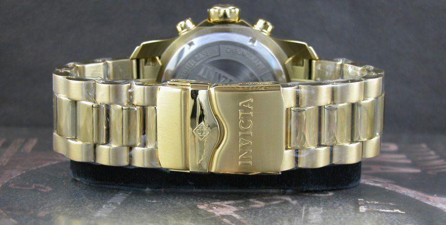 622f9235a5e ... Relógio Invicta Pro Diver 19837 Banhado Ouro 18k Cronografo 48mm -  Imagem 5