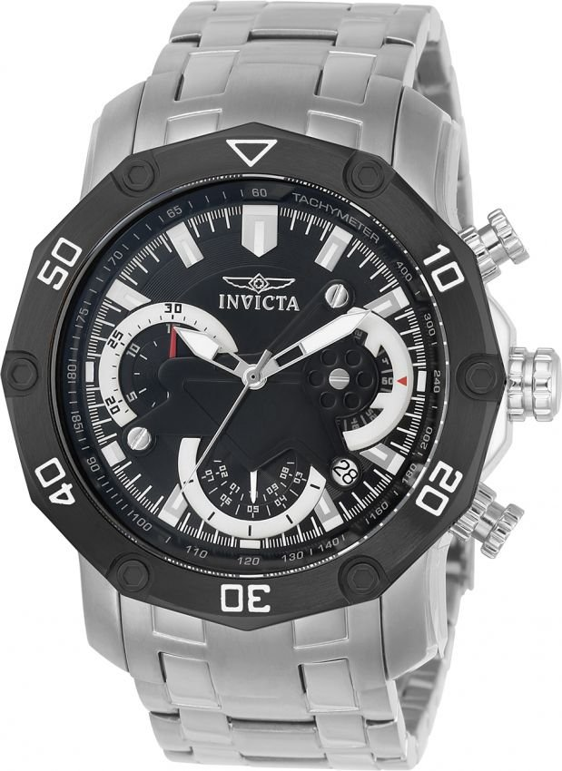 12fcac8f46c Relógio Invicta Pro Diver 22760 Aço Inoxidável 50mm Cronografo W R 100m