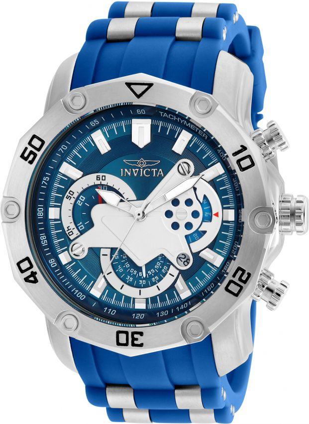 7e6ee5d64a6 Relógio Invicta Pro Diver 22760 Aço Inoxidável 50mm Cronografo W R ...