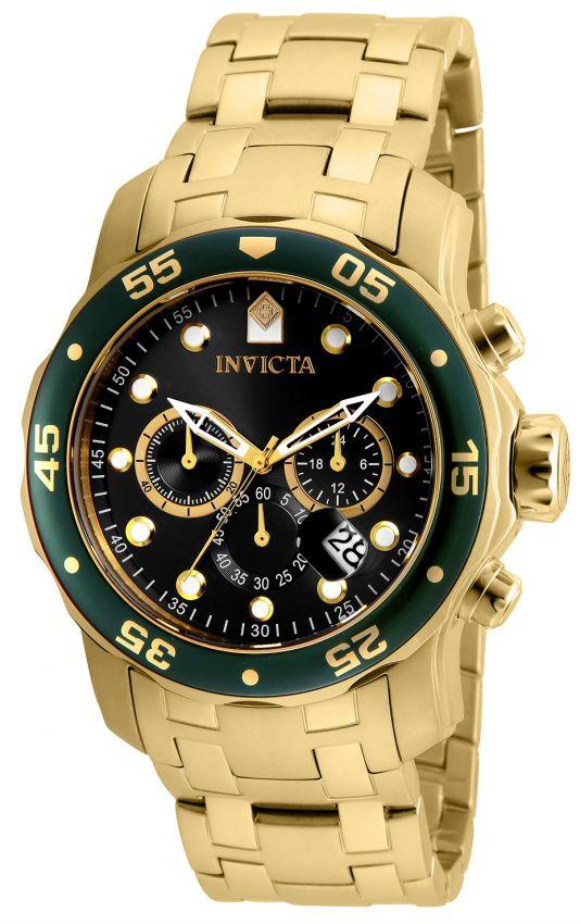 1ea1e395bf1 Relógio Invicta Pro Diver 6983 Original 48mm Banhado Ouro 18k ...