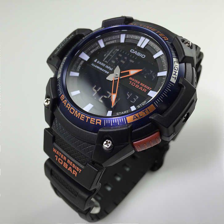 940a4c1d999 ... Relógio Casio G-Shock SGW-450H-2B Resina Masculino Digital   Analógico  W ...
