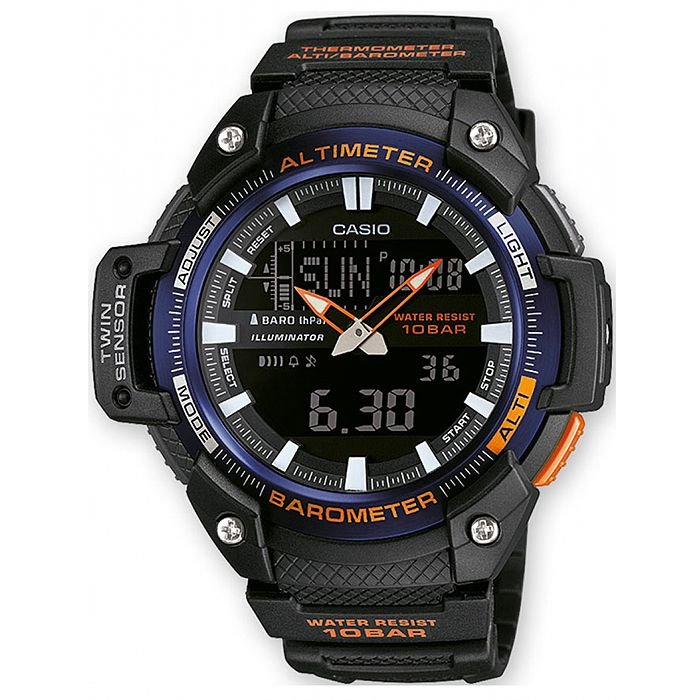 0bc15d6f2a3 Relógio Casio G-Shock SGW-450H-2B Resina Masculino Digital   Analógico W