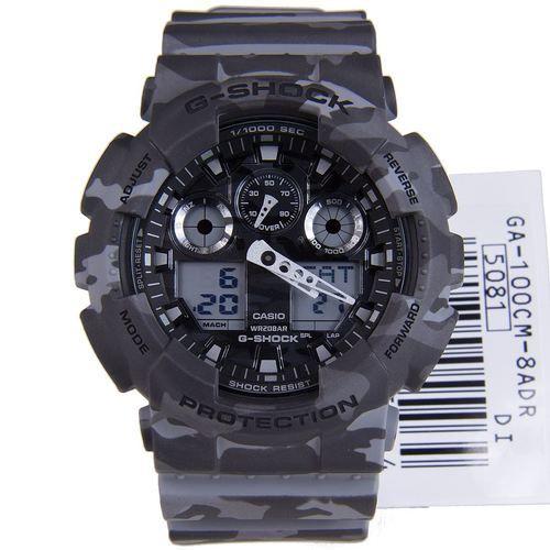 c0fc4d97f7b Relógio Casio G-Shock GA-100CM-8ADR Resina Masculino Digital   Analógico W