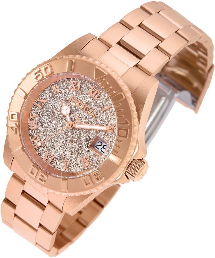 ae745820cb6 ... Relógio Invicta Angel Lady 22708 Feminino 40mm Ouro Rose 18k Swiss 515  - Imagem 2 ...
