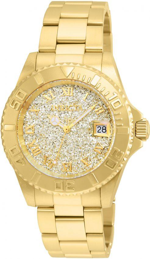 9eeb781eae6 Relógio Invicta Angel 22707 Feminino 40mm Banhado Ouro 18k Swiss 515 ...
