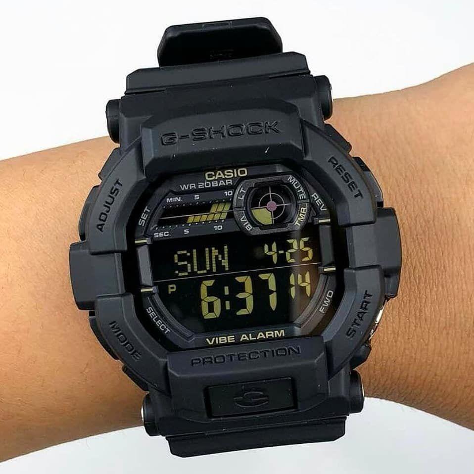 5bffb9471e9 ... Relógio Casio G-Shock GD-350-1BDR Masculino Digital   Analógico Resina  200m ...
