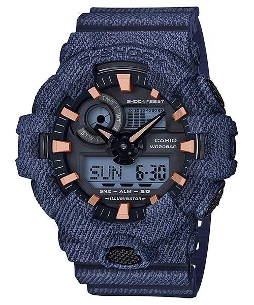 c38394a1b23 Relógio Casio G-Shock GA-700DE-2A Masculino Digital   Analógico Resina 200m