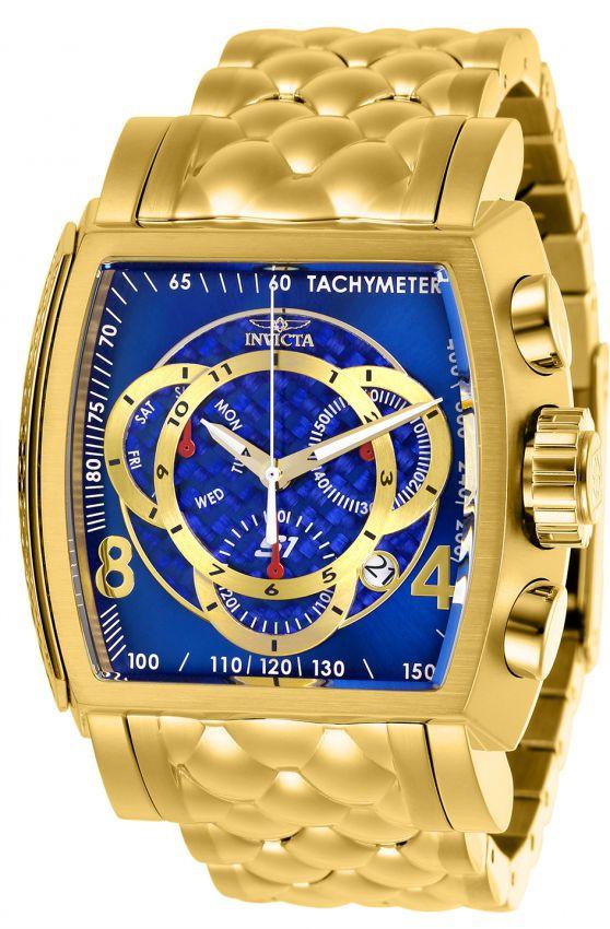 83fb7c46777 Relógio Invicta S1 Rally 27957 B. Ouro 18k Cronografo Z60 Suíço ...