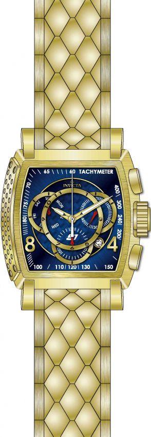 152bce0ea64 ... Relógio Invicta S1 Rally 27957 B. Ouro 18k Cronografo Z60 Suíço -  Imagem 2 ...