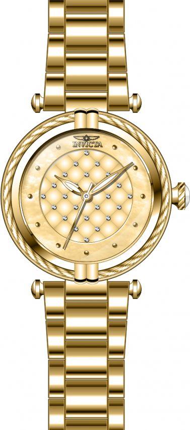 4e740a75316 ... Relógio Invicta Bolt Lady 28927 Dourado 38mm Banhado Ouro 18k - Imagem  3 ...