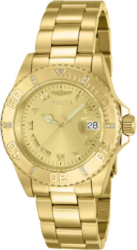 7cf09ca7123 Relógio Invicta Pro Diver 8928ob Original 40mm Aço Inox Banhado Ouro ...
