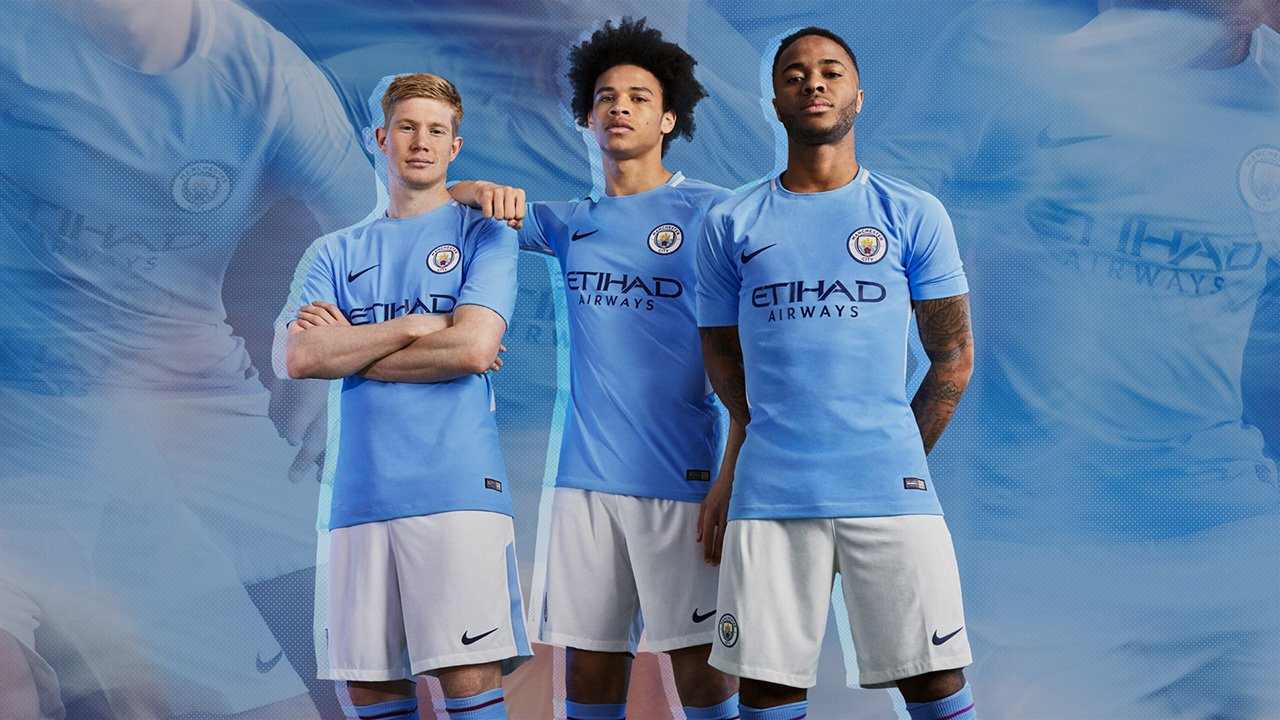 a205fa5b32 Camisa Nike MANCHESTER CITY 17 18 Home TORCEDOR - Sandes Sports ...