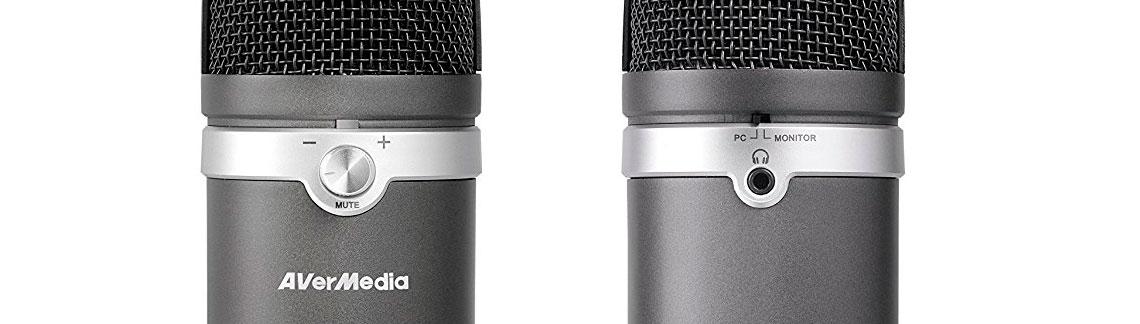 AM310 Microfone com entrada para fone de ouvido