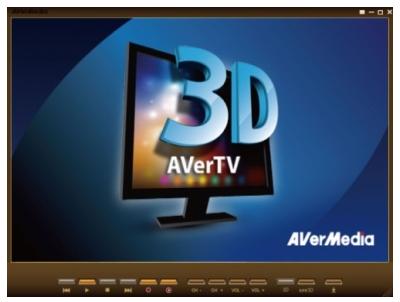 TV com efeito 3D Aver3D Hybrid Volar Xpro AVerMedia