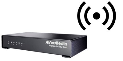 Servidor de streaming AVerMedia AVerCaster HD Duet F239