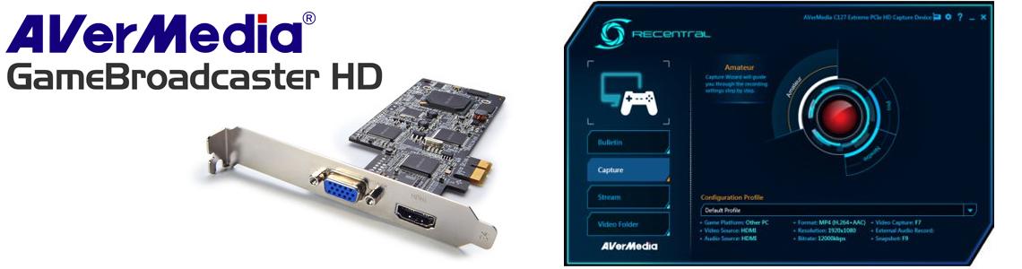 Solução de múltiplas conexões BroadCaster HD PRO - C127